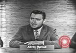 Image of presidential election debate Washington DC USA, 1960, second 19 stock footage video 65675073645