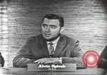 Image of presidential election debate Washington DC USA, 1960, second 21 stock footage video 65675073645