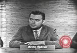Image of presidential election debate Washington DC USA, 1960, second 22 stock footage video 65675073645
