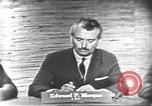Image of presidential election debate Washington DC USA, 1960, second 3 stock footage video 65675073646