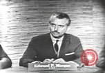 Image of presidential election debate Washington DC USA, 1960, second 4 stock footage video 65675073646