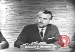 Image of presidential election debate Washington DC USA, 1960, second 5 stock footage video 65675073646