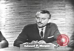 Image of presidential election debate Washington DC USA, 1960, second 6 stock footage video 65675073646