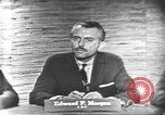 Image of presidential election debate Washington DC USA, 1960, second 7 stock footage video 65675073646