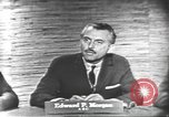 Image of presidential election debate Washington DC USA, 1960, second 9 stock footage video 65675073646