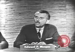 Image of presidential election debate Washington DC USA, 1960, second 11 stock footage video 65675073646