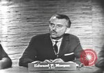 Image of presidential election debate Washington DC USA, 1960, second 12 stock footage video 65675073646