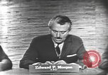 Image of presidential election debate Washington DC USA, 1960, second 13 stock footage video 65675073646
