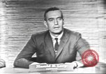 Image of presidential election debate Washington DC USA, 1960, second 2 stock footage video 65675073650