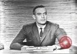 Image of presidential election debate Washington DC USA, 1960, second 3 stock footage video 65675073650