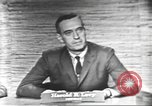 Image of presidential election debate Washington DC USA, 1960, second 5 stock footage video 65675073650