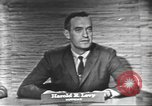 Image of presidential election debate Washington DC USA, 1960, second 7 stock footage video 65675073650