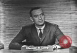Image of presidential election debate Washington DC USA, 1960, second 12 stock footage video 65675073650