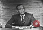 Image of presidential election debate Washington DC USA, 1960, second 13 stock footage video 65675073650