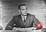 Image of presidential election debate Washington DC USA, 1960, second 18 stock footage video 65675073650