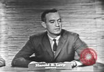 Image of presidential election debate Washington DC USA, 1960, second 19 stock footage video 65675073650