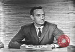 Image of presidential election debate Washington DC USA, 1960, second 21 stock footage video 65675073650