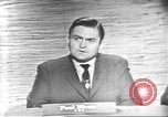 Image of presidential election debate Washington DC USA, 1960, second 4 stock footage video 65675073651