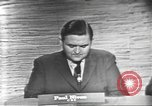 Image of presidential election debate Washington DC USA, 1960, second 8 stock footage video 65675073651