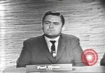 Image of presidential election debate Washington DC USA, 1960, second 11 stock footage video 65675073651