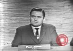 Image of presidential election debate Washington DC USA, 1960, second 13 stock footage video 65675073651