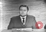 Image of presidential election debate Washington DC USA, 1960, second 16 stock footage video 65675073651