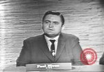 Image of presidential election debate Washington DC USA, 1960, second 17 stock footage video 65675073651