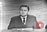 Image of presidential election debate Washington DC USA, 1960, second 19 stock footage video 65675073651