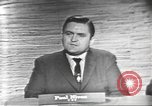 Image of presidential election debate Washington DC USA, 1960, second 21 stock footage video 65675073651