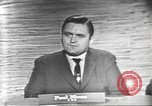 Image of presidential election debate Washington DC USA, 1960, second 23 stock footage video 65675073651