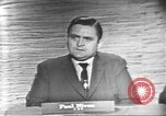 Image of presidential election debate Washington DC USA, 1960, second 24 stock footage video 65675073651