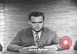 Image of presidential election debate Washington DC USA, 1960, second 10 stock footage video 65675073653