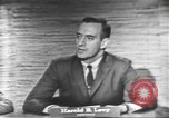 Image of presidential election debate Washington DC USA, 1960, second 14 stock footage video 65675073653