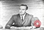 Image of presidential election debate Washington DC USA, 1960, second 20 stock footage video 65675073653