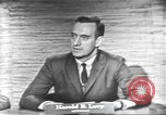 Image of presidential election debate Washington DC USA, 1960, second 23 stock footage video 65675073653