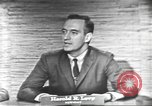 Image of presidential election debate Washington DC USA, 1960, second 25 stock footage video 65675073653