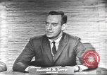 Image of presidential election debate Washington DC USA, 1960, second 28 stock footage video 65675073653