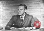 Image of presidential election debate Washington DC USA, 1960, second 29 stock footage video 65675073653