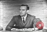 Image of presidential election debate Washington DC USA, 1960, second 30 stock footage video 65675073653