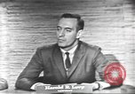 Image of presidential election debate Washington DC USA, 1960, second 31 stock footage video 65675073653