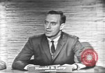Image of presidential election debate Washington DC USA, 1960, second 32 stock footage video 65675073653