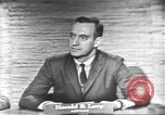 Image of presidential election debate Washington DC USA, 1960, second 34 stock footage video 65675073653