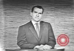Image of presidential election debate Washington DC USA, 1960, second 35 stock footage video 65675073653
