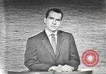 Image of presidential election debate Washington DC USA, 1960, second 36 stock footage video 65675073653