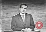 Image of presidential election debate Washington DC USA, 1960, second 37 stock footage video 65675073653