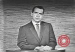 Image of presidential election debate Washington DC USA, 1960, second 41 stock footage video 65675073653