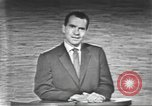 Image of presidential election debate Washington DC USA, 1960, second 42 stock footage video 65675073653