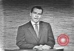 Image of presidential election debate Washington DC USA, 1960, second 44 stock footage video 65675073653
