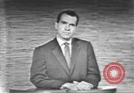 Image of presidential election debate Washington DC USA, 1960, second 47 stock footage video 65675073653