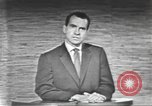 Image of presidential election debate Washington DC USA, 1960, second 48 stock footage video 65675073653